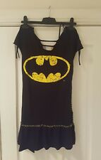 -DISCOUNTED- NEW POIZEN INDUSTRIES BATMAN Goth Dress Size S DC COMICS RRP $80