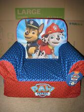 NWT PAW PATROL CUDDLE UP KIDS CHAIR RYDER CHASE MARSHALL SKYE I SHIP EVERYDAY