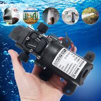 12V~130PSI Water Pump Self Priming Pump Diaphragm High Pressure Automatic Switch