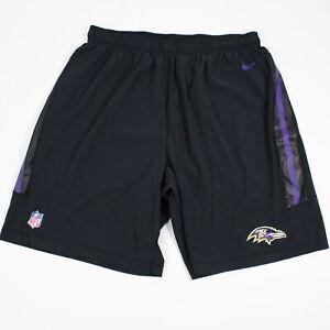 Baltimore Ravens Nike Dri-Fit Athletic Shorts Men's Black Used