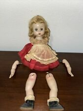 New ListingVintage Madame Alexander Doll Needs to be restrung. Tagged. 8 inches