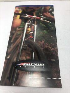 Vintage 1995 Girvin Fork Brochure