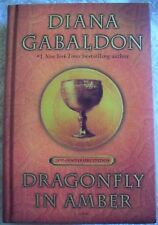 Dragonfly in Amber 25th Anniversary Edition Diana Gabaldon HC 1st SIGNED