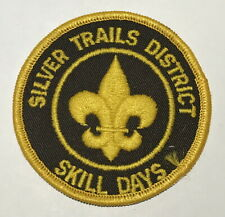 Silver Trails District Skill Days Patch Mint MC6