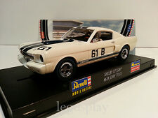 Slot Scalextric Revell 08371 Shelby Mustang GT-350R #61B Jerry Titus