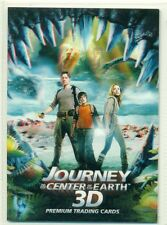 PROMO CARD - JOURNEY TO THE CENTER OF THE EARTH - 3D - #P-1 - 2008 - INKWORKS