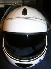 Schuberth C2 Concept Modular Motorcycle Helmet White Flip up 54/55 1650 GRAMM