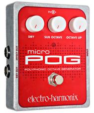 Electro-Harmonix Micro POG, BRAND NEW FROM DEALER! FREE *INTERNATIONAL* S&H!