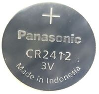 1 Panasonic Lithium Button Cell CR2412 CR 2412 Battery