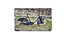 Berini M14 Motorbike Sign Metal Retro Aged Aluminium Bike