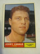 1961 Topps #195 Jerry Casale Baseball Card, Good Cond (GS2-b9)