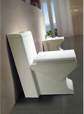 One Piece Toilet - Modern Bathroom Toilet - Dual Flush Toilet - Nasino - 25.6""