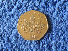 2013 50p Christopher Ironside (Lion and Unicorn) V/G Circulated