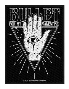 BULLET FOR MY VALENTINE - Patch Aufnäher Eye 7x10cm