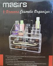 Masirs 4 Drawers Cosmetic Organizer