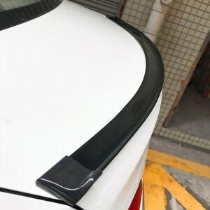 Shiny black Car Rear Window Top Roof Lip Decor Spoiler Wing Trim Mercedes-Benz