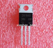 10pcs New IRF840 Power MOSFET N-Channel IR TO-220