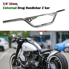 "7/8"" 22mm Drag Handlebar Z Bar For Harley Sportster XL883/1200 Dyna Bobber Dyba"