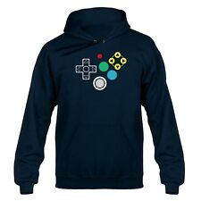 N64 Inspired Controller Buttons Hooded Sweater Hoody