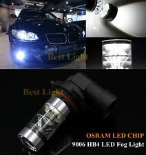 2xFor BMW E60 525i 530i M5  Canbus 9006 HB4 6000K  LED Fog Driving Light White