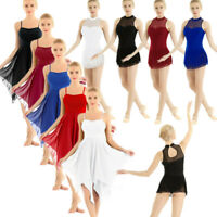 Adult Women's Leotard Ballet Dance Dress Contemporary Lyrical Gymnastics Costume