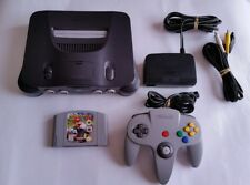 Complete And Original Nintendo 64 Console With Mario Kart 64