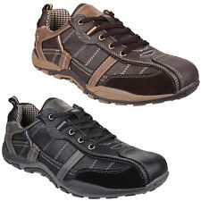 Fleet & Foster Portsmouth Lace Up Mens Trainers Shoes UK 7-12