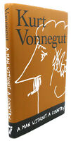 Kurt Vonnegut, Daniel Simon A MAN WITHOUT A COUNTRY  1st Edition 3rd Printing