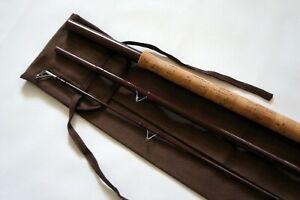 Vintage Bruce and Walker Avon Perfection float river trotter 12' barbel rod