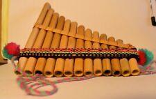 Pan Flute Antara Bamboo 13 Pipe BEST DEAL Top Selling Siku Flauta