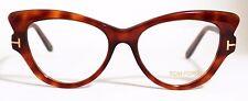 350$ New TOM FORD Brown Women Glasses Optical Frame 51mm TF5269 5269 Cat Eye