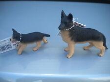 GERMAN SHEPHERD & PUP by Safari Ltd; NEW 2013 models/toy/dog/dogs/shep