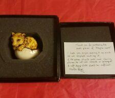 Rare Lim. Edition Harmony Kingdom Fragile World Leopard Cub in Egg 1 of 250 Ww
