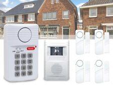 6 tlg.DKB Funk Hausalarmanlage mit Fensteralarm - Türalarm Bewegungsmelder Alarm
