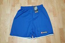 Lotto Men's XL Royal Blue/White Coppa Olympia Training Futbol Shorts NWTs