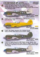 Print Scale Decals 1/72 CURTISS P-40N WARHAWK American WWII Fighter