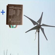 12V/24V 480W max Windgenerator Windrad Windkraftanlage WIND TURBINE + LADEREGLER