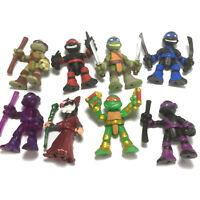 8PCS TMNT Rooftop Ruckus MICHELANGELO Leonardo Teenage Mutant Ninja Turtles toys