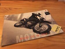 Suzuki 2008 125 RV DR SM Address vanvan moto prospectus catalogue brochure pub