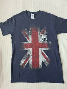 The Who Distressed Flag Tee - Small