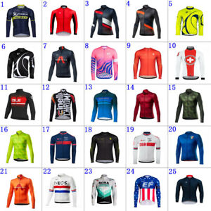 2021 Mens Cycling Jersey long Sleeve bicycle jersey Cycling long Sleeve Jersey