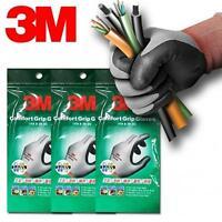 3 paires 3M Comfort Grip sécurité industriel jardinage Gants de travail