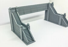 3D-Pluss Footbridge N scale Resin printed High Detail