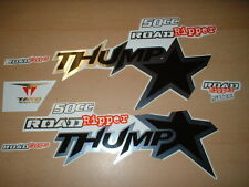 Thumpstar Road Ripper 50cc Pit Bike Decals Stickers Graphics