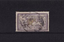 timbre France  Merson  2f  violet et jaune     num: 122  oblitéré