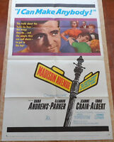 Madison Avenue MoviePoster, Original, Folded, One Sheet, Eleanor Parker, 1961