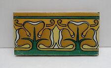 Antique Decorated Border Tile