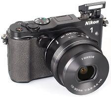 NIKKOR NIKON 1 V3 DIGITAL CAMERA C/W VR 10-30 F3.5-5.6 PD ZOOM LENS (BLACK)