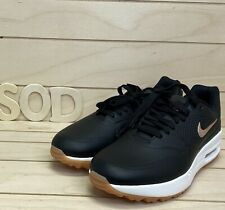 "Women's Nike Air Max 1 Golf ""Black Gum"" AQ0865-002 US Size 9 New Black Gum Sole"