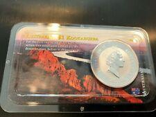 1994 Australian 1oz Silver Kookaburra .999 Fine Silver - Littleton Pack  TONED!